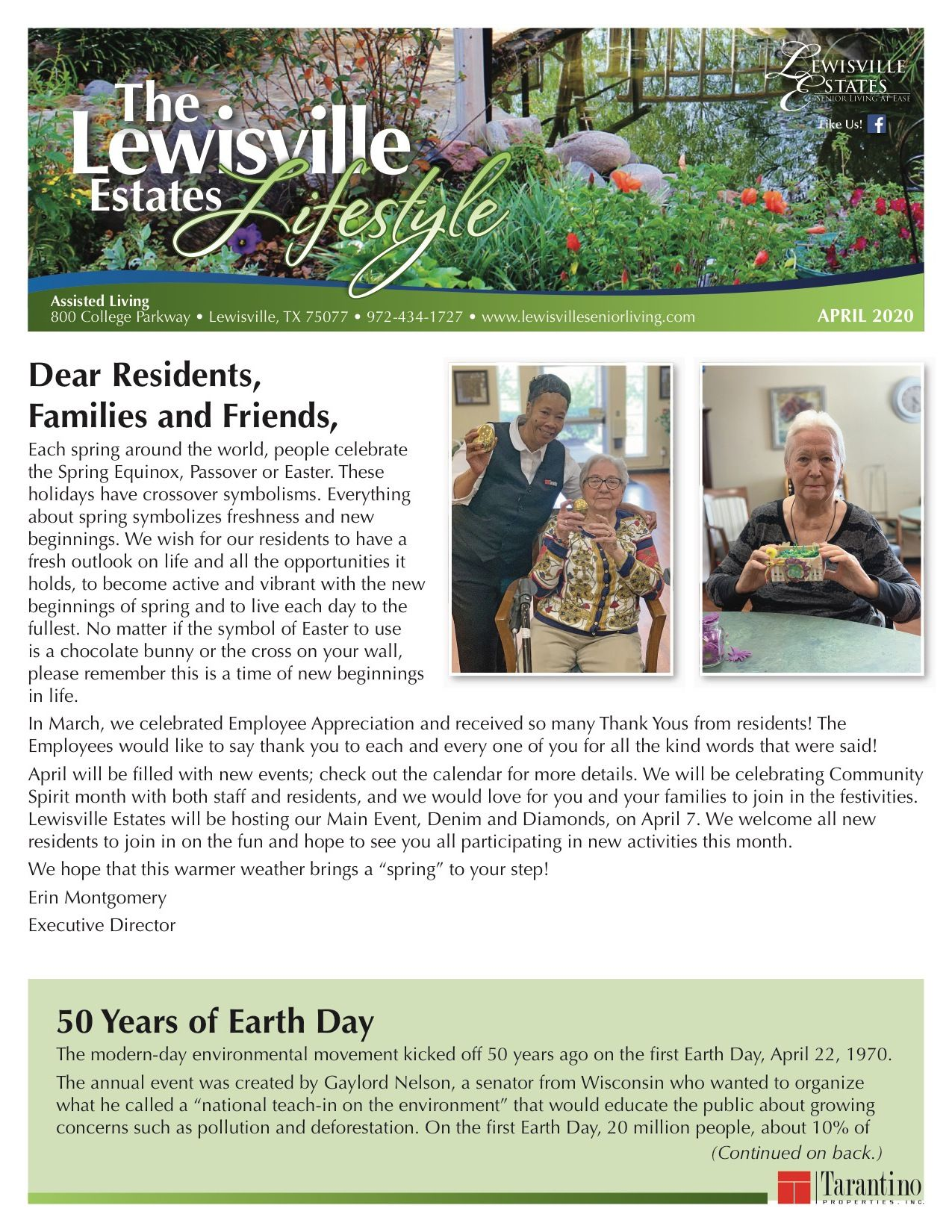 Assisted Living Current Newsletter