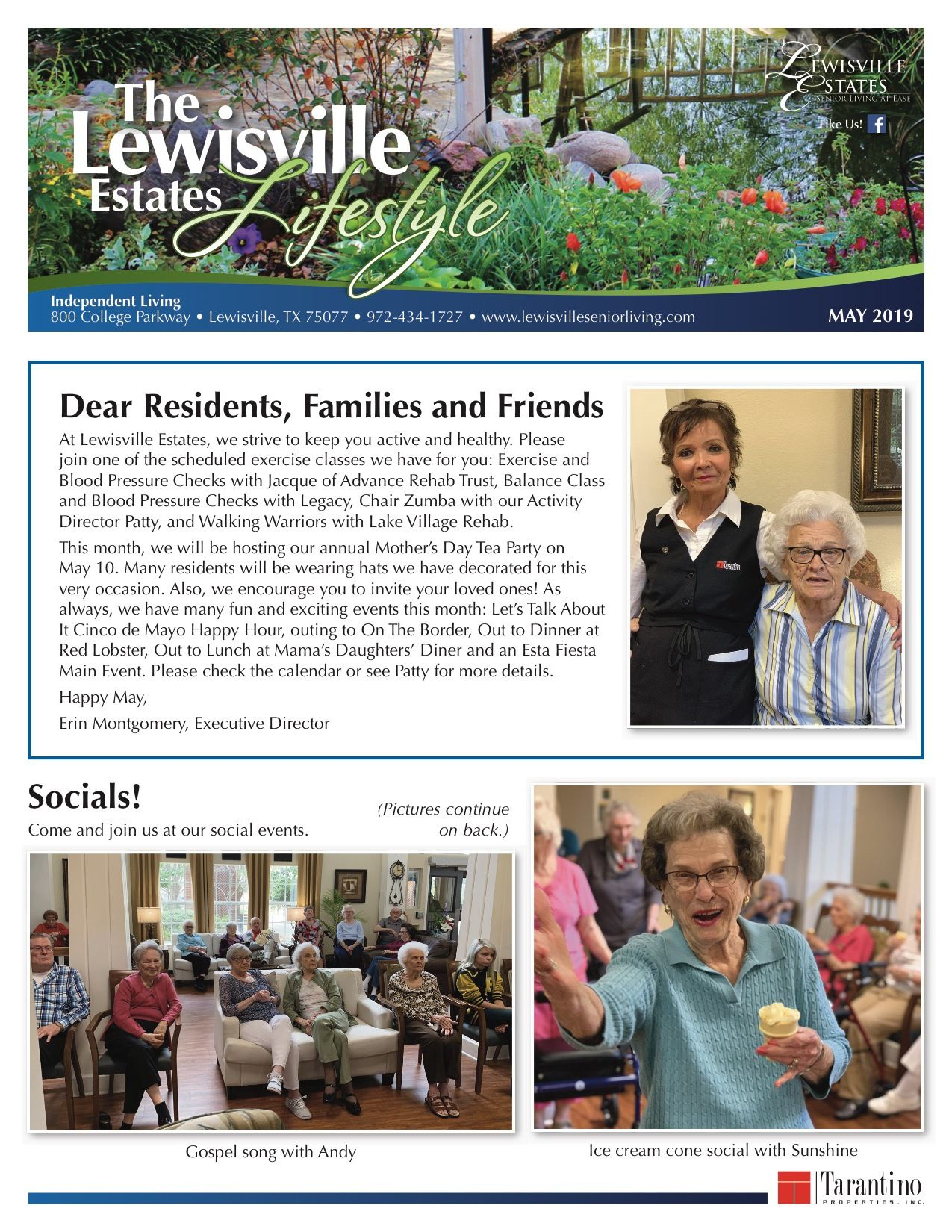 Independent Living Current Newsletter